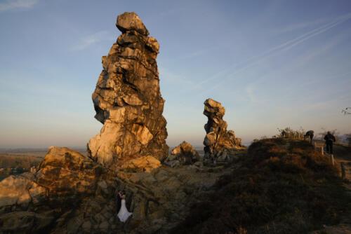4. Klaus Rautert - Teufelsmauer Brautpaar